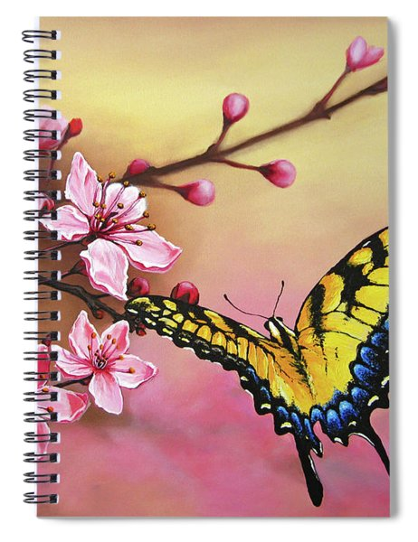 First Blossom Of The Morning Spiral Notebook