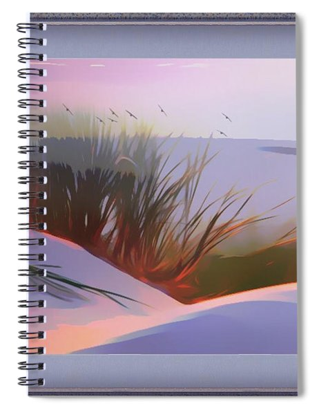 First Light Spiral Notebook