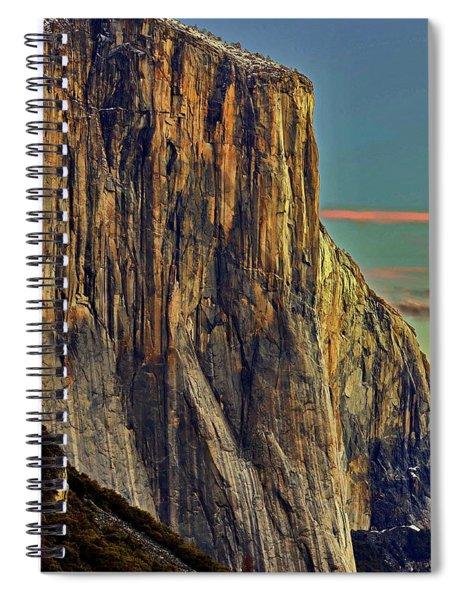 First Light - El Cap Spiral Notebook