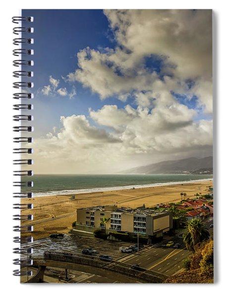 First Rain - Winter 18 Spiral Notebook
