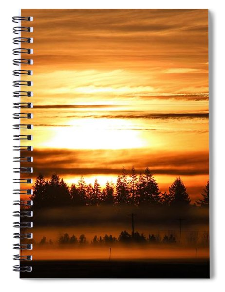 First Sunrise Spiral Notebook