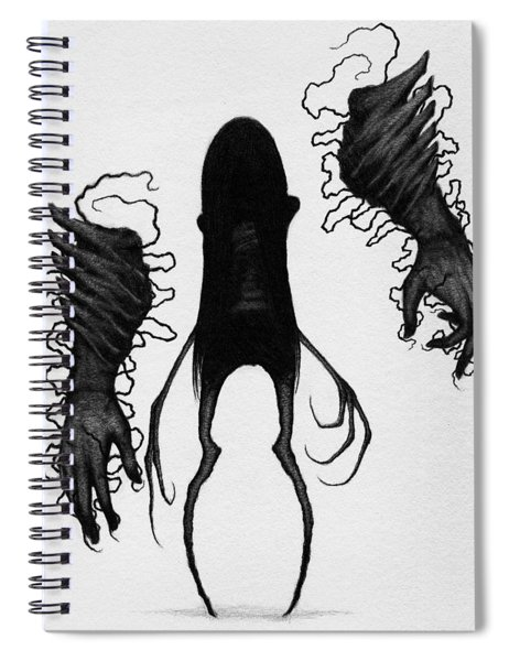 Firstborn Of The Orphan Wing - Artwork Spiral Notebook