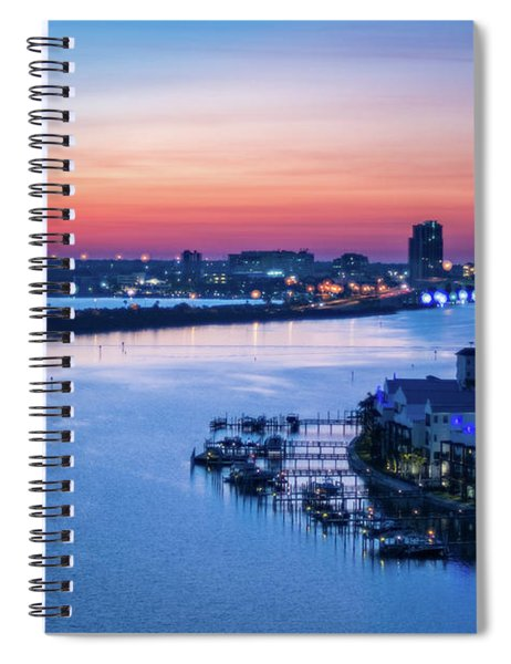 Firstlight Over Clearwater Spiral Notebook