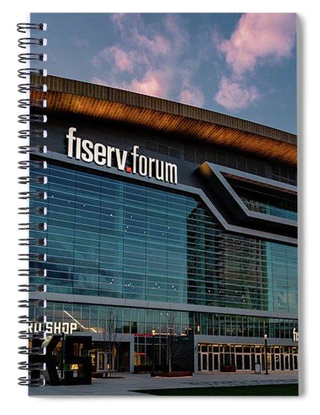 Fiserv.forum Spiral Notebook