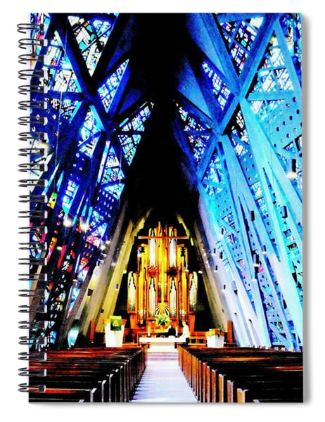 Fish Church Spiral Notebook