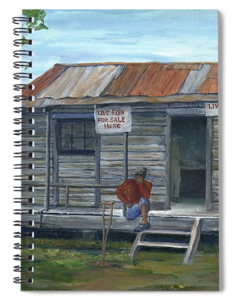 Fish Store, Natchitoches Parish, Louisiana Spiral Notebook