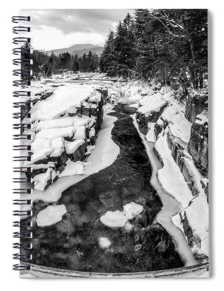 Fisheye View, Rocky Gorge Nh Spiral Notebook