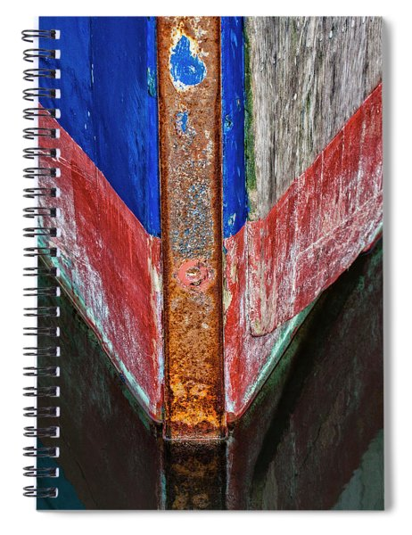 Fishing Boat Prow Spiral Notebook