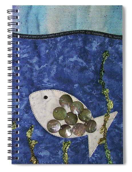 Fishy Fishy Spiral Notebook