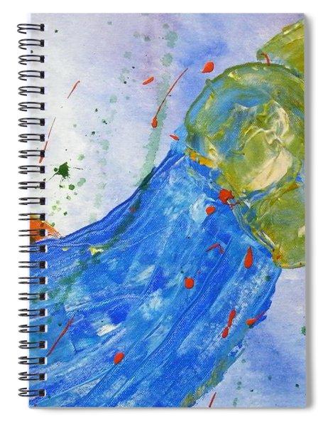 Fist Of Steel Spiral Notebook