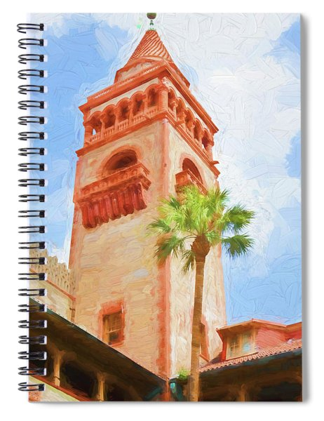 Flagler College Tower Spiral Notebook