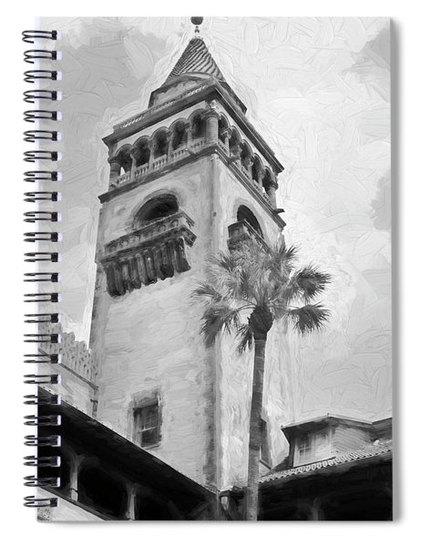 Flagler College Tower St Augustine Spiral Notebook