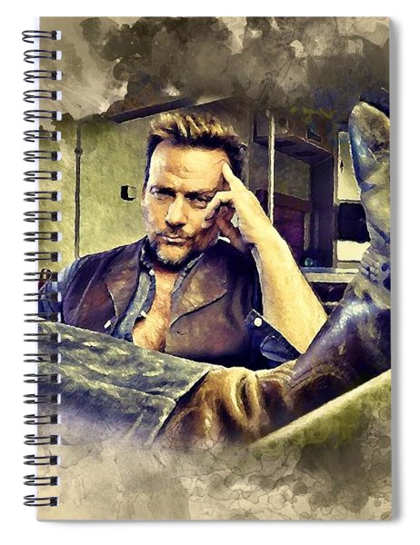 Flanery And His Cowboy Boot Spiral Notebook