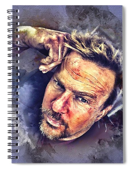 Flanery Watercolor Spiral Notebook