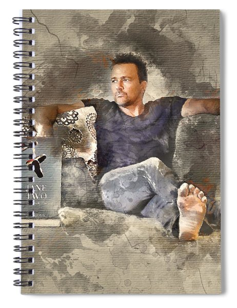 Flanery With Jane Two Spiral Notebook