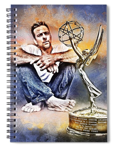 Flanery Won Emmy Spiral Notebook