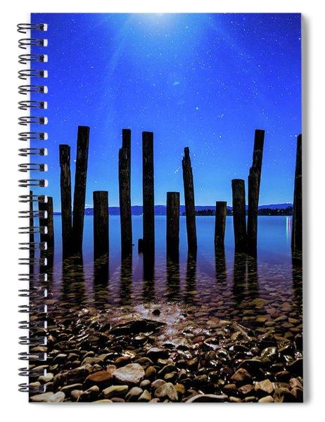 Flathead Lake Spiral Notebook