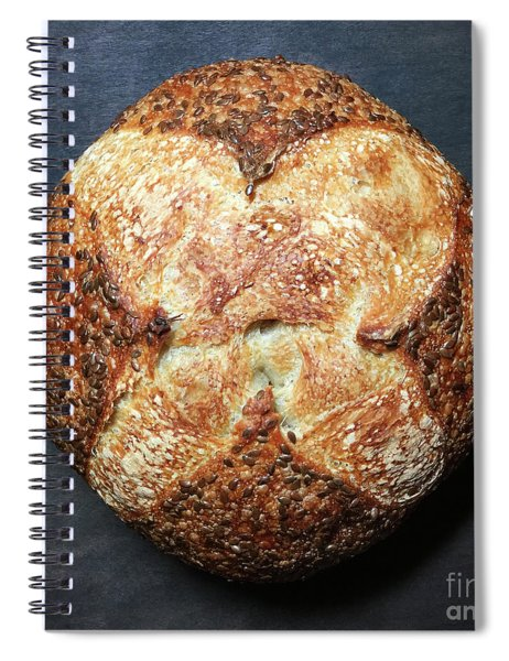 Flax Seed Sourdough 1 Spiral Notebook