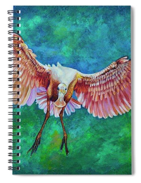 Fledgling Flight Spiral Notebook