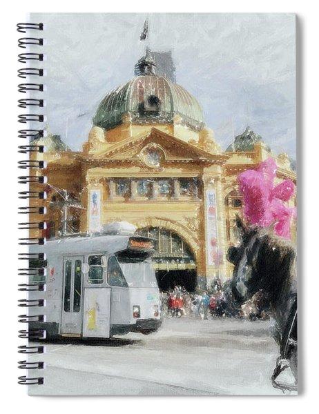 Flinders Street Station, Melbourne Spiral Notebook