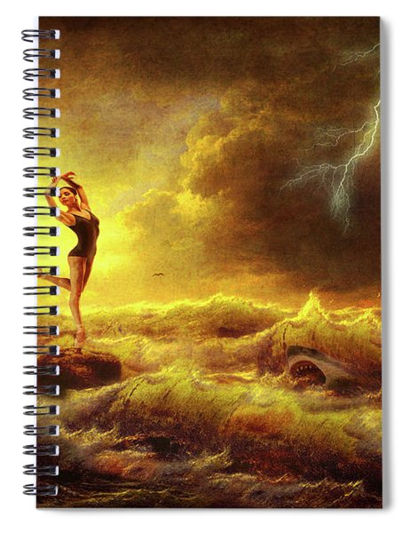 Flirting With Disaster Spiral Notebook
