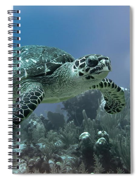 Floatin' By Spiral Notebook