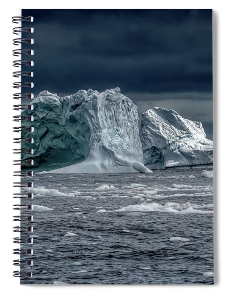 Floating Mountains Spiral Notebook