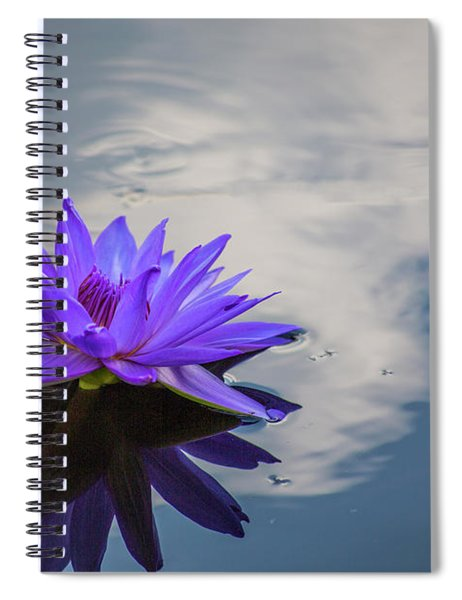 Floating On A Cloud Spiral Notebook
