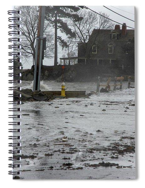 Flooding Leftovers Spiral Notebook