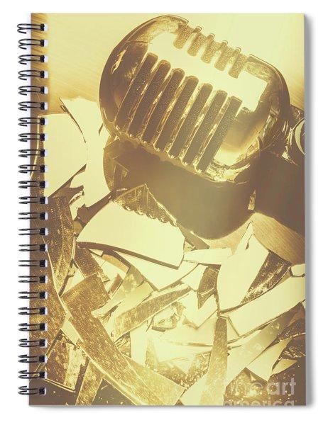 Floorshow Spiral Notebook