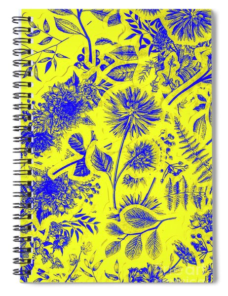 Flora And Foliage Spiral Notebook
