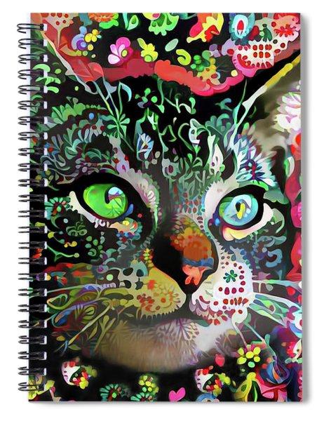 Flora The Tabby Cat Spiral Notebook