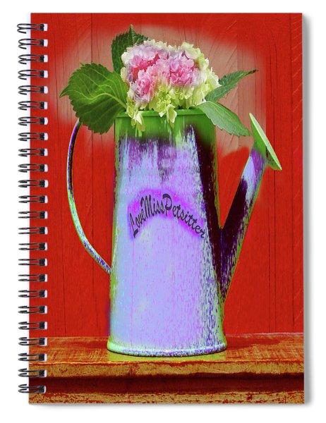 Floral  Art 375 Spiral Notebook