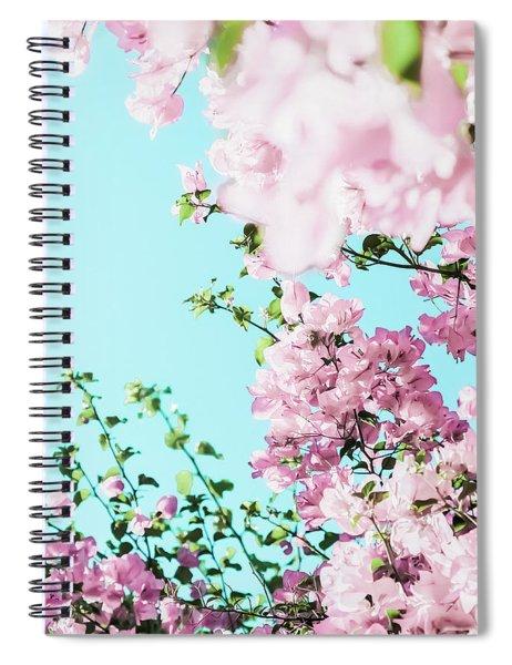 Floral Dreams I Spiral Notebook