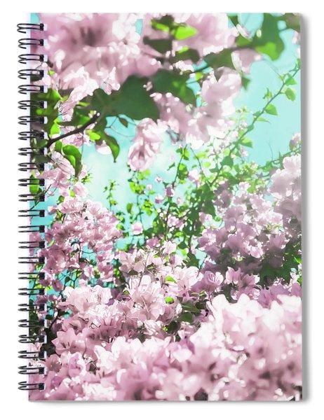 Floral Dreams Iv Spiral Notebook