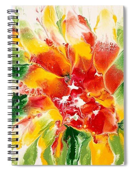 Floral Flourish 2 Spiral Notebook