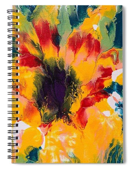 Floral Flourish 3 Spiral Notebook