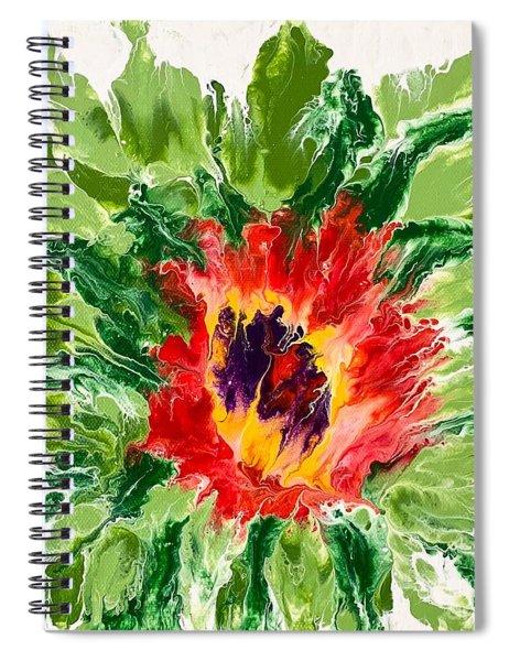 Floral Flourish Spiral Notebook