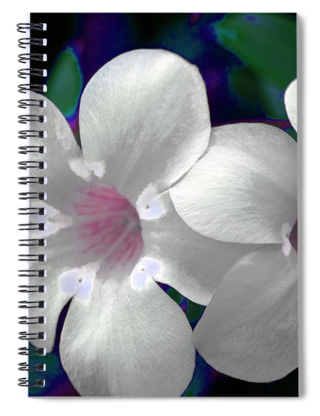 Floral Photo A030119 Spiral Notebook by Mas Art Studio