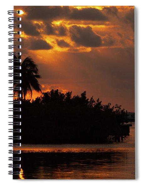 Florida Keys Sunset Spiral Notebook