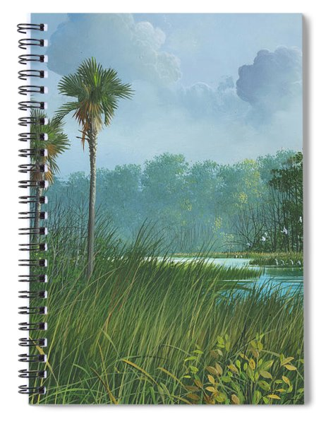 Florida's Back Country Spiral Notebook