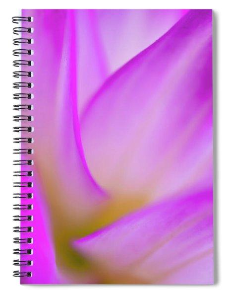 Flower Close Up Spiral Notebook