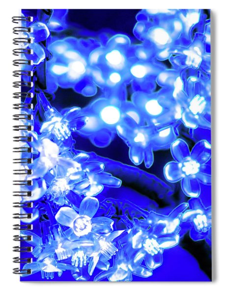 Flower Lights 1 Spiral Notebook