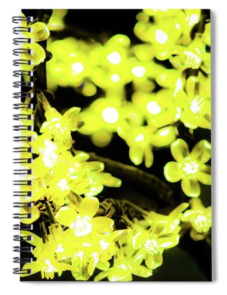 Flower Lights 6 Spiral Notebook