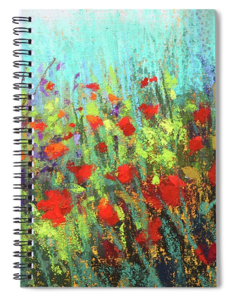 Flower Party Spiral Notebook