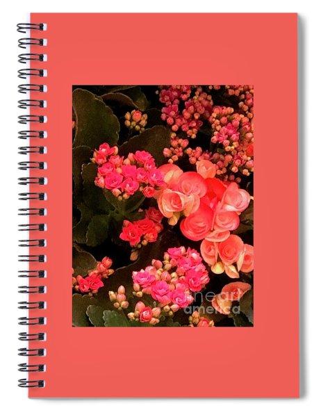 Flowers At Wynn Spiral Notebook