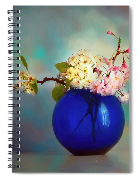 Flowers Of Spring Spiral Notebook