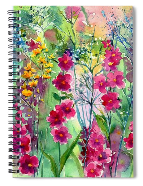 Flowery Fairy Tales Spiral Notebook