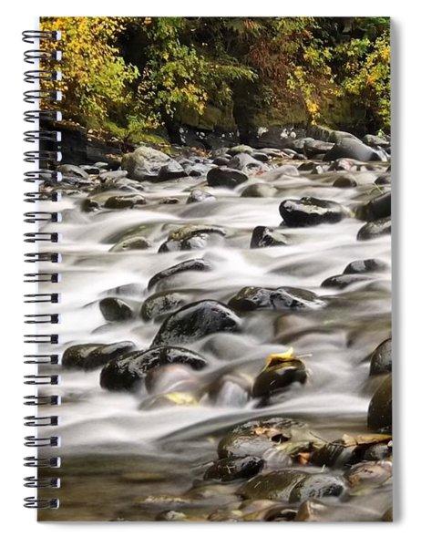 Flowing Molalla Spiral Notebook