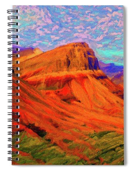 Flowing Rock Spiral Notebook